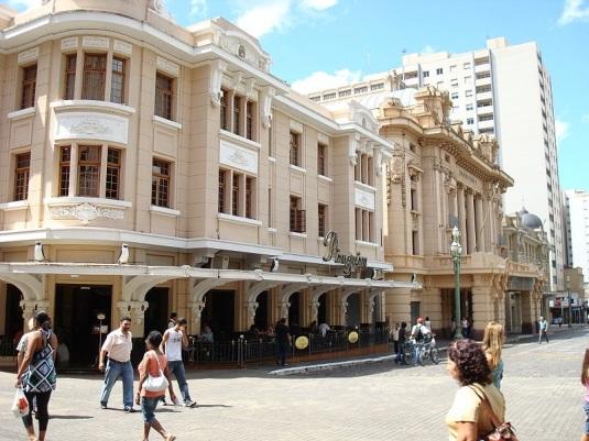 19 de Junho - Choperia Pinguim ao lado do Teatro Pedro II - O 'Quarteirão Paulista' — Ribeirão Preto (SP) — 161 Anos.