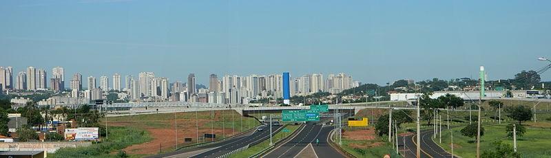 19 de Junho - Panorama do Trevo Waldo Adalberto da Silveira, considerado o maior complexo viário do Brasil — Ribeirão Preto (SP) — 161 Anos.