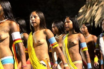 19 de Junho - Representantes dos índios Caiapós, nativos moradores da área da atual cidade — Ribeirão Preto (SP) — 161 Anos.