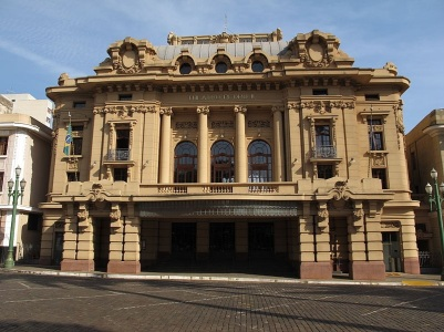 19 de Junho - Teatro D. Pedro II — Ribeirão Preto (SP) — 161 Anos.