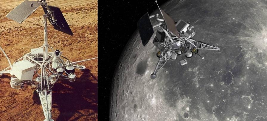 2 de Junho - 1966 – A sonda lunar Surveyor 1 chega à Lua, depois de um voo de três dias.