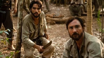 2 de Junho - 1980 - Caio Blat de Oliveira, ator brasileiro - Caio Blat e João Miguel, interpretam os irmãos Villas Bôas no filme Xingu do diretor Cao Hamburger.