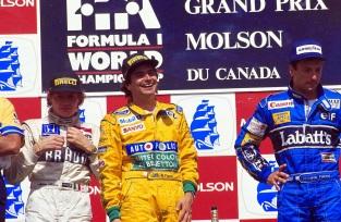 2 de Junho - 1991 – Nelson Piquet vence o GP do Canadá, sua última vitória na Fórmula 1.