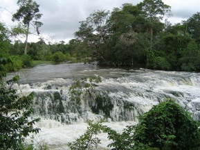 2 de Junho - Paisagem e corredeiras de Guarantã do Norte, no Mato Grosso.