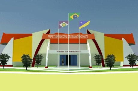 2 de Junho - Prefeitura em Guarantã do Norte - MT.