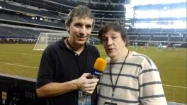 20 de Junho - Oscar Ulisses em reportagem na Copa América.