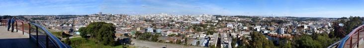 20 de Junho - Panorâmica de Caxias do Sul vista a partir do morro da Festa da Uva — Caxias do Sul (RS) — 127 Anos.