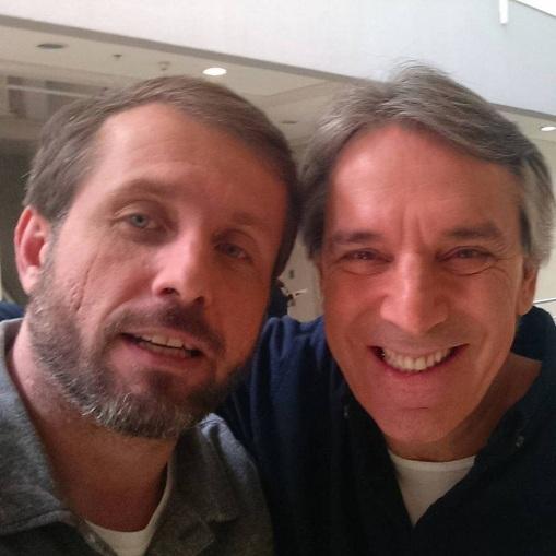 20 de Junho - Vitor Guedes e Oscar Ulisses em 29 de julho de 2015, que participaram do programa Seleção SporTV.