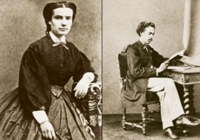 21 de Junho - Carolina Augusta e seu marido, Machado de Assis.
