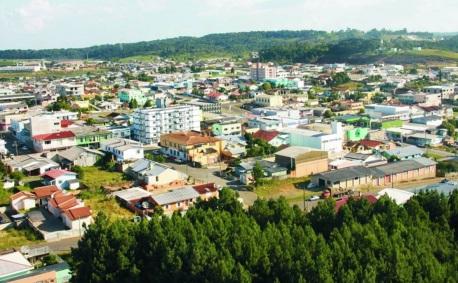 21 de Junho - Vista do alto — Santa Cecília (SC) — 59 Anos.