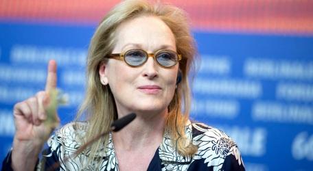 22 de Junho - Meryl Streep, atriz, em entrevista coletiva.