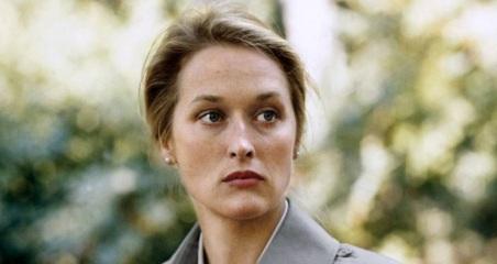 22 de Junho - Meryl Streep - atriz, em 'Kramer vs. Kramer', de 1979.