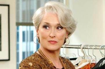 22 de Junho - Meryl Streep, atriz, em 'O diabo veste Prada'.