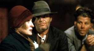 22 de Junho - Meryl Streep com Jack Nicholson, em 'Ironweed', de Hector Babenco.