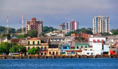 22 de Junho - Vista do rio — Santarém (PA) — 356 Anos.