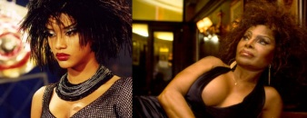 23 de Junho - Tais Araújo (esq) interpreta Elza Soares, em filme sobre Garringha.