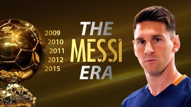 24 de Junho - Messi e as conquistas da bola de ouro.