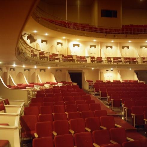 24 de Junho - Vista interna do Teatro Municipal — São João da Boa Vista (SP) — 196 Anos.