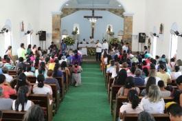 25 de Junho - Missa em Ação de Graças na igreja Matriz no aniversário da cidade em 2017 — Porto (PI) — 97 Anos.