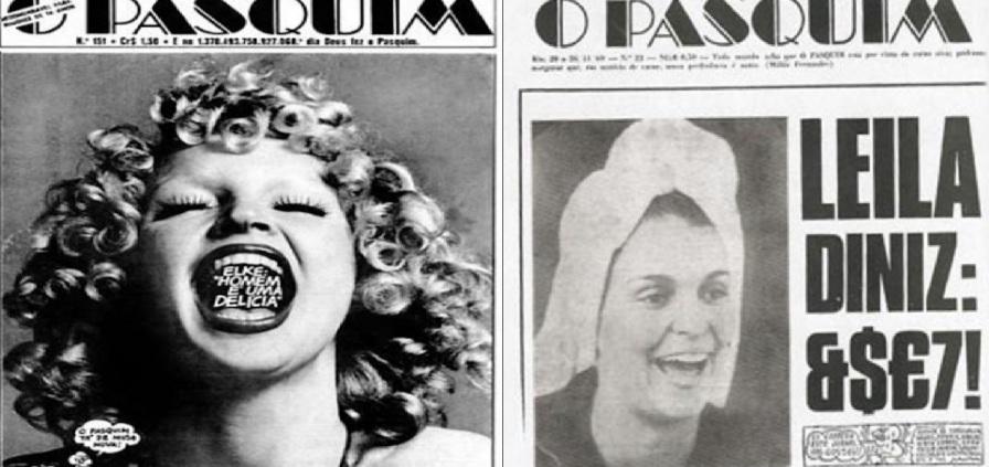 """26 de Junho - 1969 – É publicada a primeira edição do semanário """"O Pasquim""""."""