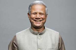 28 de Junho – Muhammad Yunus, empresário bengali (prêmio Nobel da Paz de 2008).