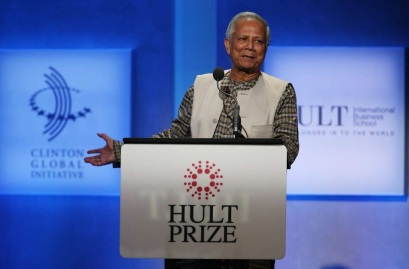 28 de Junho – Muhammad Yunus (prêmio Nobel da Paz de 2008).