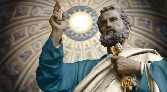 29 de Junho – 67 — São Pedro, principal discípulo de Jesus Cristo e primeiro papa.