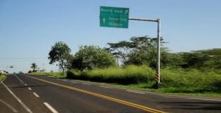 29 de Junho — Entrada principal da cidade na rodovia Armando Salles de Oliveira, SP-322 — Monte Azul Paulista (SP) — 121 Anos.