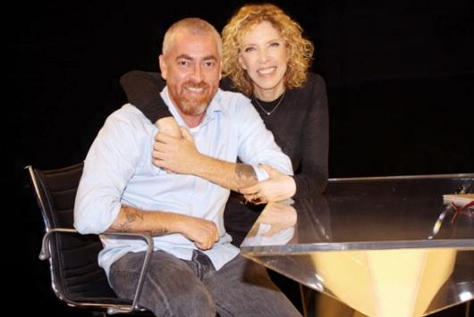 3 de Junho - Alex Atala com Marília Gabriela.