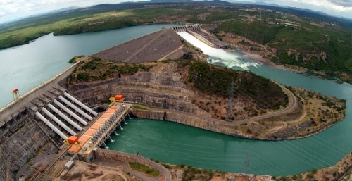 3 de Junho - Hidrelétrica de Xingó - Piranhas (AL) - 130 Anos.