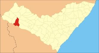 3 de Junho - Localização de Piranhas em Alagoas.