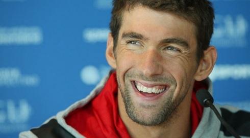 30 de Junho — Michael Phelps, nadador, campeão olímpico.