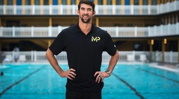 30 de Junho — Michael Phelps - nadador campeão olímpico.