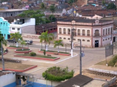 4 de Junho - Escola Municipal Fernando Augusto Pinto, vista do alto - Joaquim Nabuco (PE) - a Terra do Açucar.