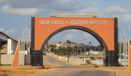 4 de Junho - Pórtico da cidade - Joaquim Nabuco (PE) - a Terra do Açucar.