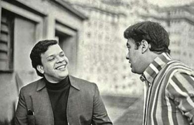 5 de Junho - 1941 - Erasmo Carlos, cantor, compositor, músico e escritor brasileiro - com Tim Maia.