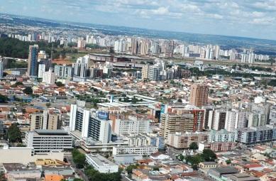 5 de Junho - Foto aérea da cidade – Taguatinga (DF) – 59 Anos.