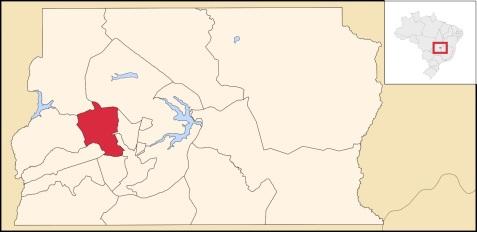 5 de Junho - Mapa – Taguatinga (DF) – 59 Anos.