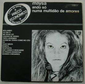 6 de Junho - Maysa Matarazzo - Ando Só numa Multidão de Amores.