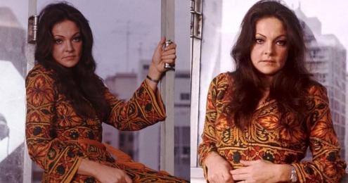 6 de Junho - Maysa Matarazzo, cantora e compositora brasileira, na janela do prédio.
