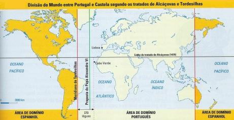 7 de Junho - 1494 – Portugal e a Espanha assinam o Tratado de Tordesilhas, dividindo entre si o Novo Mundo