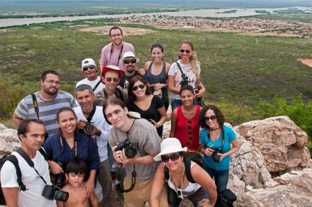 7 de Junho - Grupo de turistas - Santa Maria da Boa Vista (PE) - 145 Anos.