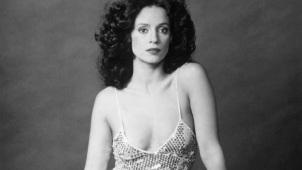 8 de Junho - 1950 – Sônia Braga, atriz brasileira, jovem, foto pb.