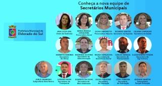 8 de Junho - Atuais secretários municipais da Prefeitura - Eldorado do Sul (RS) - 29 Anos.