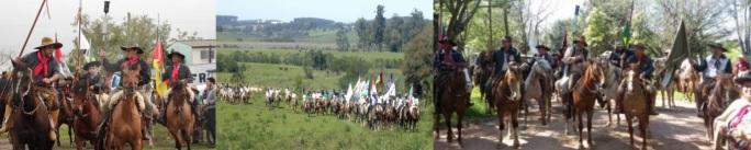 8 de Junho - Cavalgada de tradicionalistas - Eldorado do Sul (RS) - 29 Anos.