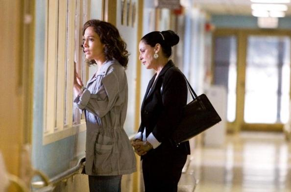 8 de Junho - Em 2001, Braga participou do elenco de Angel Eyes, no papel de Josephine Pogue, mãe de Sharon Pogue interpretada por Jennifer Lopez.