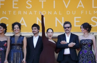 8 de Junho - Sonia Braga em Cannes com o filme 'Aquarius', de Kleber Mendonça Filho.