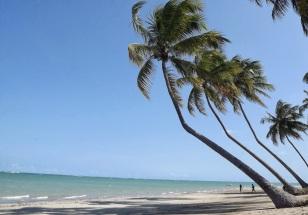 9 de Junho - Paisagem característica da praia — Porto de Pedras (AL) 96 Anos.