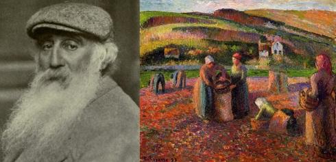 10 de Julho – 1830 – Camille Pissaro, pintor impressionista francês (m. 1903).