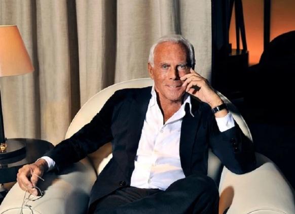 11 de Julho – 1934 – Giorgio Armani, estilista italiano.